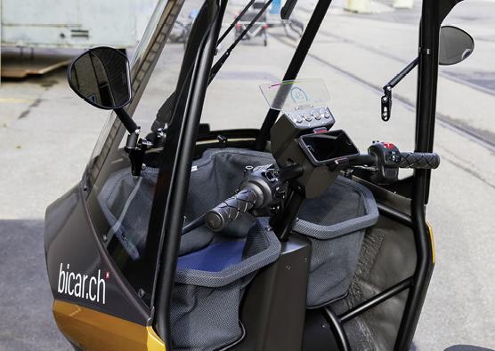 Treiber vieler funktionaler Details des Bicars ist der 3D-Druck.