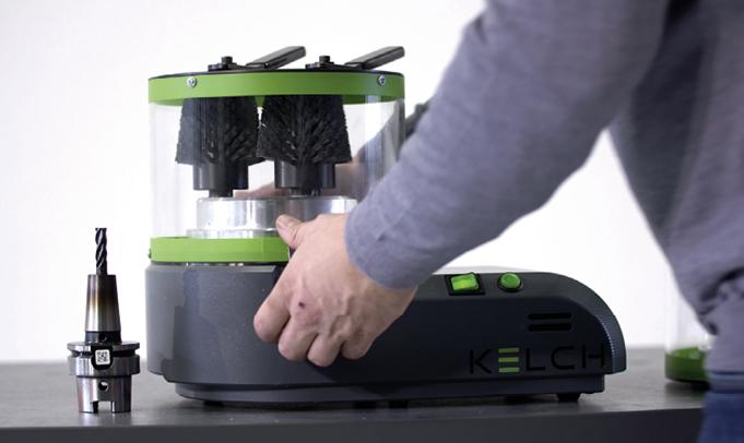 Reinigung von Werkzeugmaschinen Reinigungsgerät