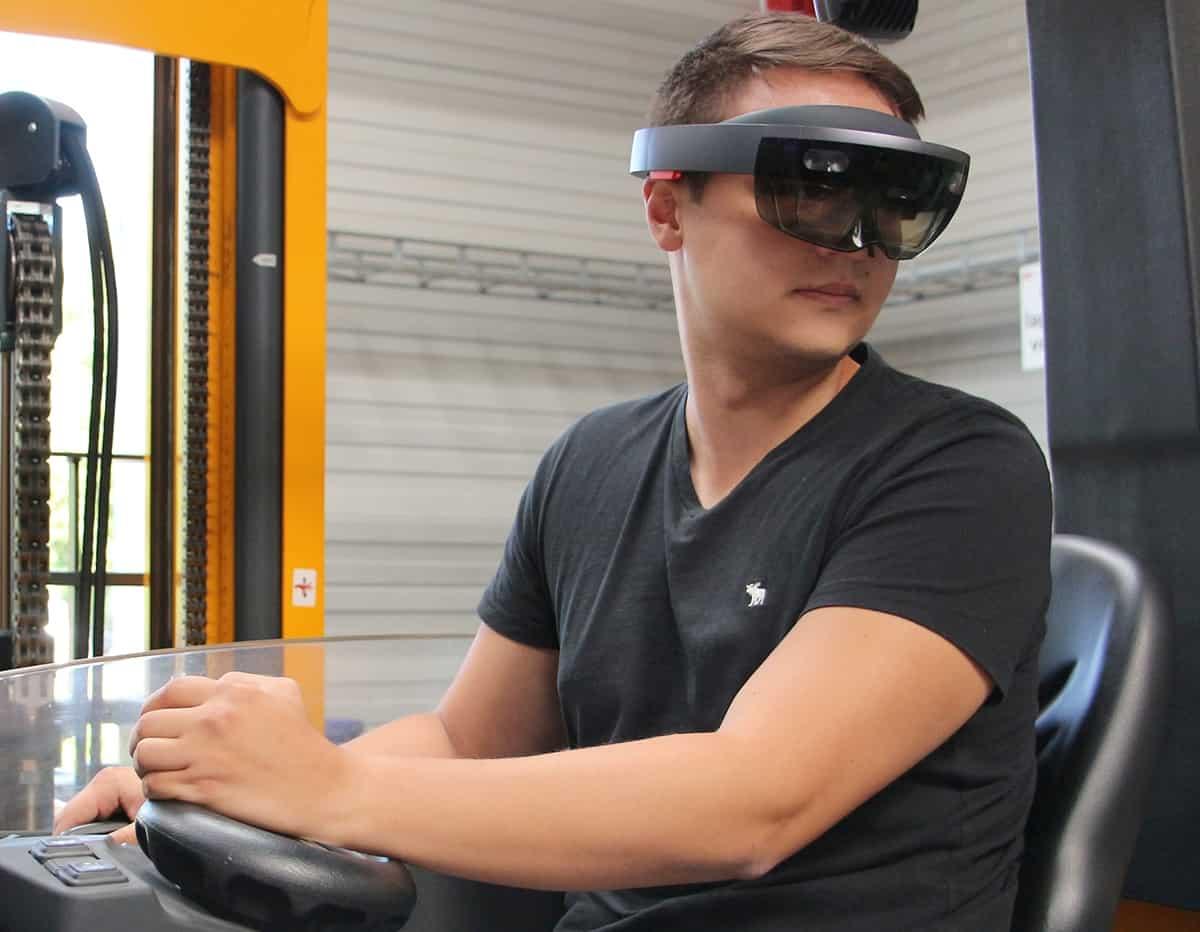 AR-Brille für die Intralogistik