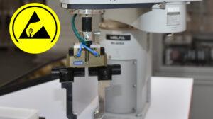 Roboter: So lassen sich Elektronik ohne Elektrostatik handhaben
