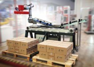 Linearachsen von Rollon in UR-Cobots integriert
