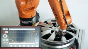 Qualitätsprüfung: Fehlerhafte Gussrohlinge automatisiert aussortieren