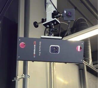 Laserprojektion