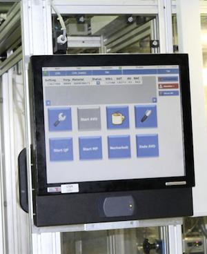 In Sulzbach-Rosenberg sind 25 Maschinen ans MES angeschlossen. Die Produktionsstandorte in Altdorf, Tschechien und China sollen bald folgen.