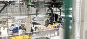Siemens liefert diese Technik für die flexible Fertigung für den E-Porsche