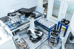 Roboterzelle von Vischer&Bolli