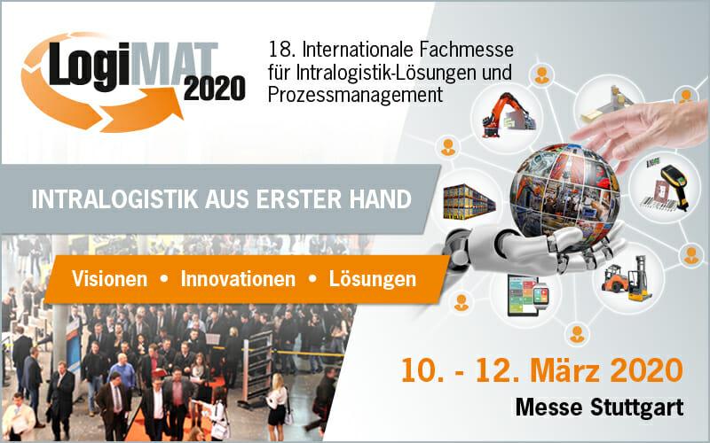 LogiMAT 2020: Mehr Intralogistik geht nicht