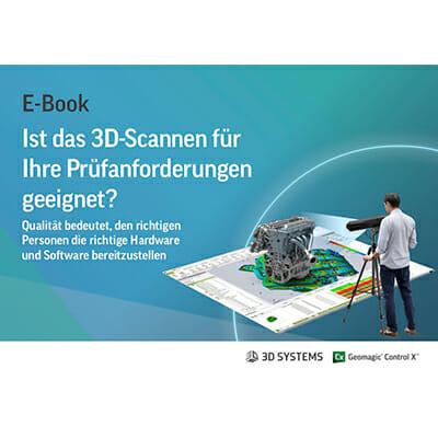 Ist das 3D-Scannen für Ihre Prüfanforderungen geeignet?