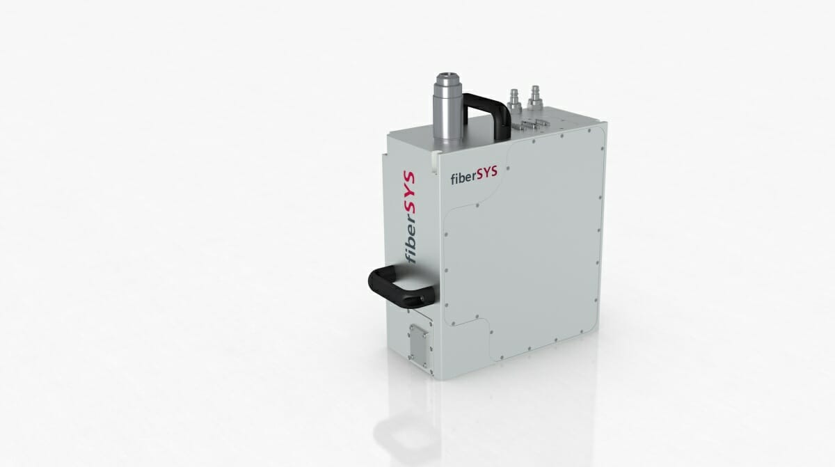 Metall-3D-Druck: Fibersys-Scankopf