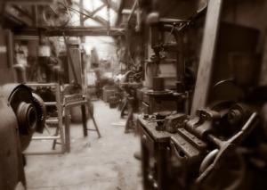 Open Industry 4.0 Alliance macht historische Bohrmaschine fit