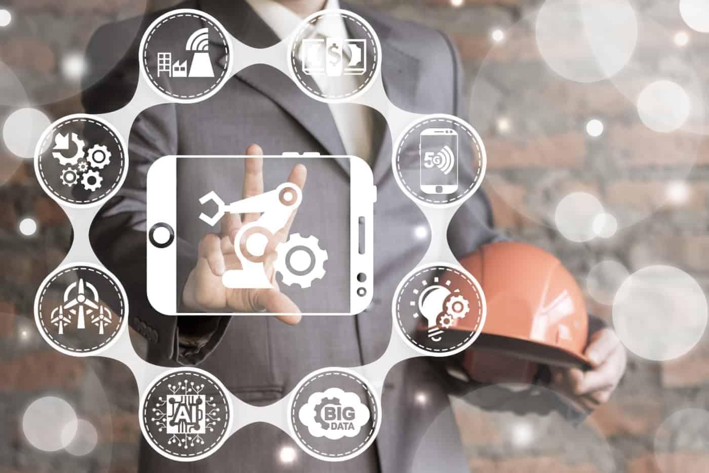 Symbolbild: Digitalisierung in der Fertigung