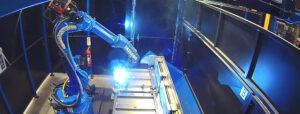 Schweißroboter: Systemrelevante Lösung in Rekordzeit realisiert